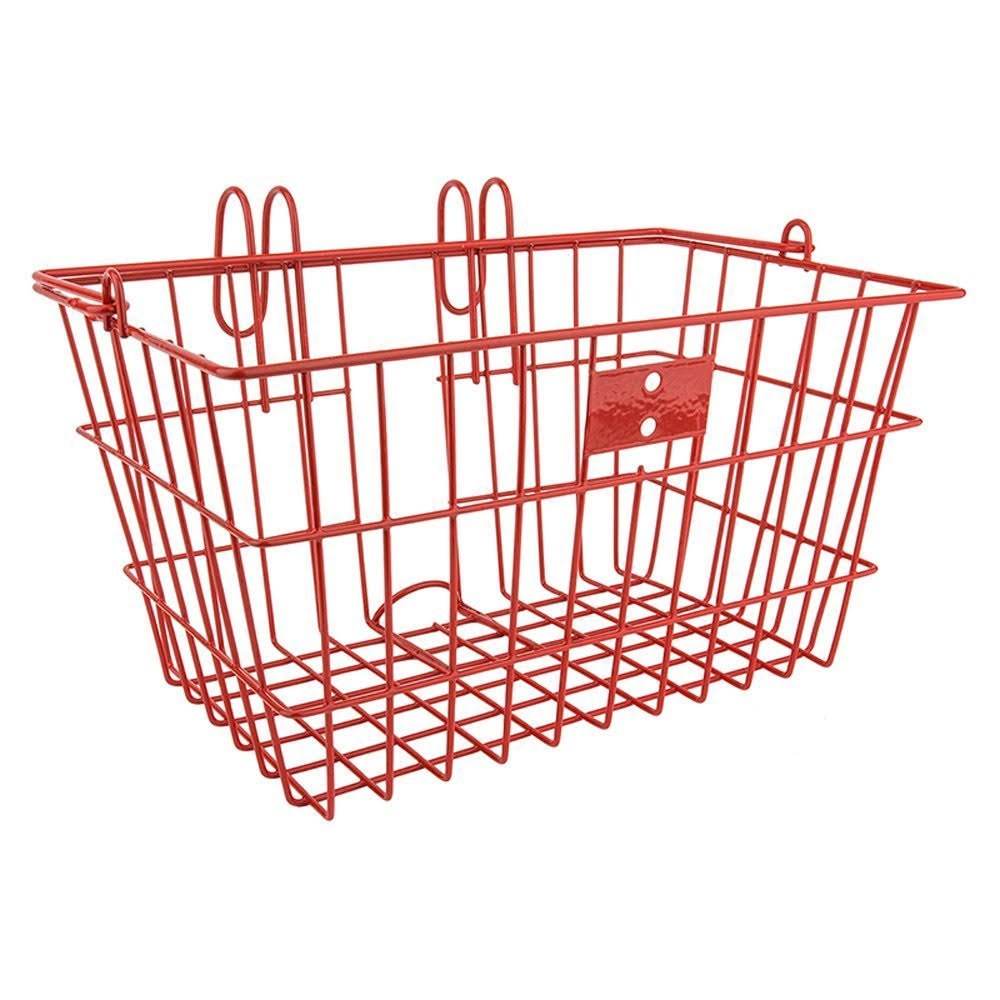 SunLite Wire Lift-off Front Basket - Red