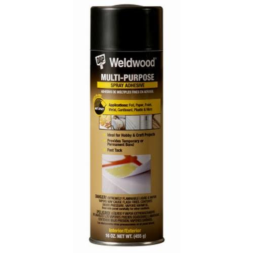 DAP Weldwood Multipurpose Spray Adhesive - 16oz