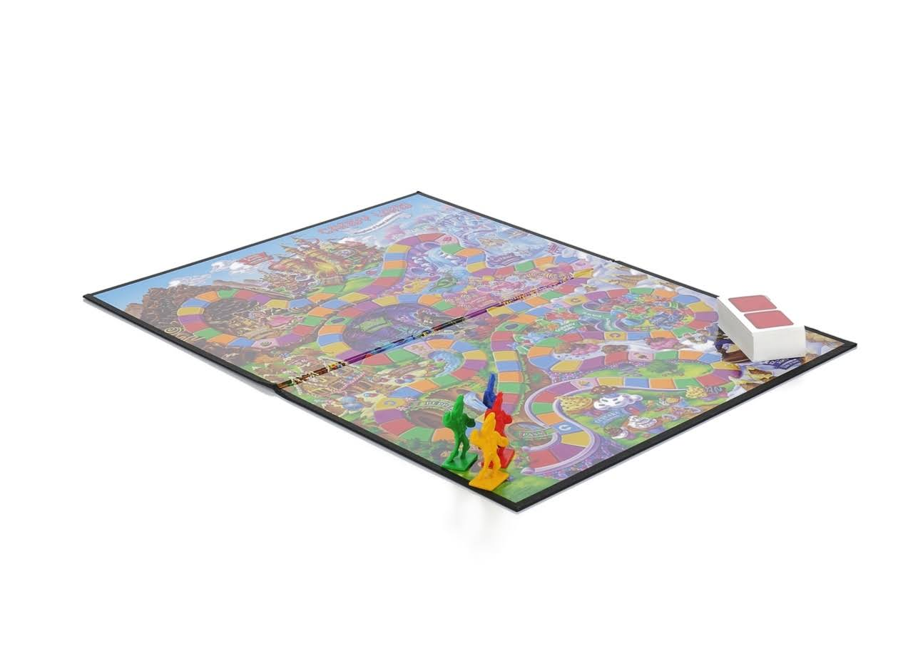 Hasbro Candy Land The World of Sweets Board Game - Preschool, Ages 3 and up