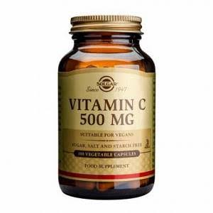 Solgar Vitamin C Dietary Supplement - 100 Vegetable Capsules