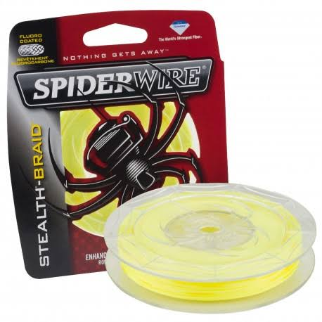 "Spiderwire Stealth Braid Superline Line Spool - 200 Yards, 0.010"" Diameter, 20 lb"