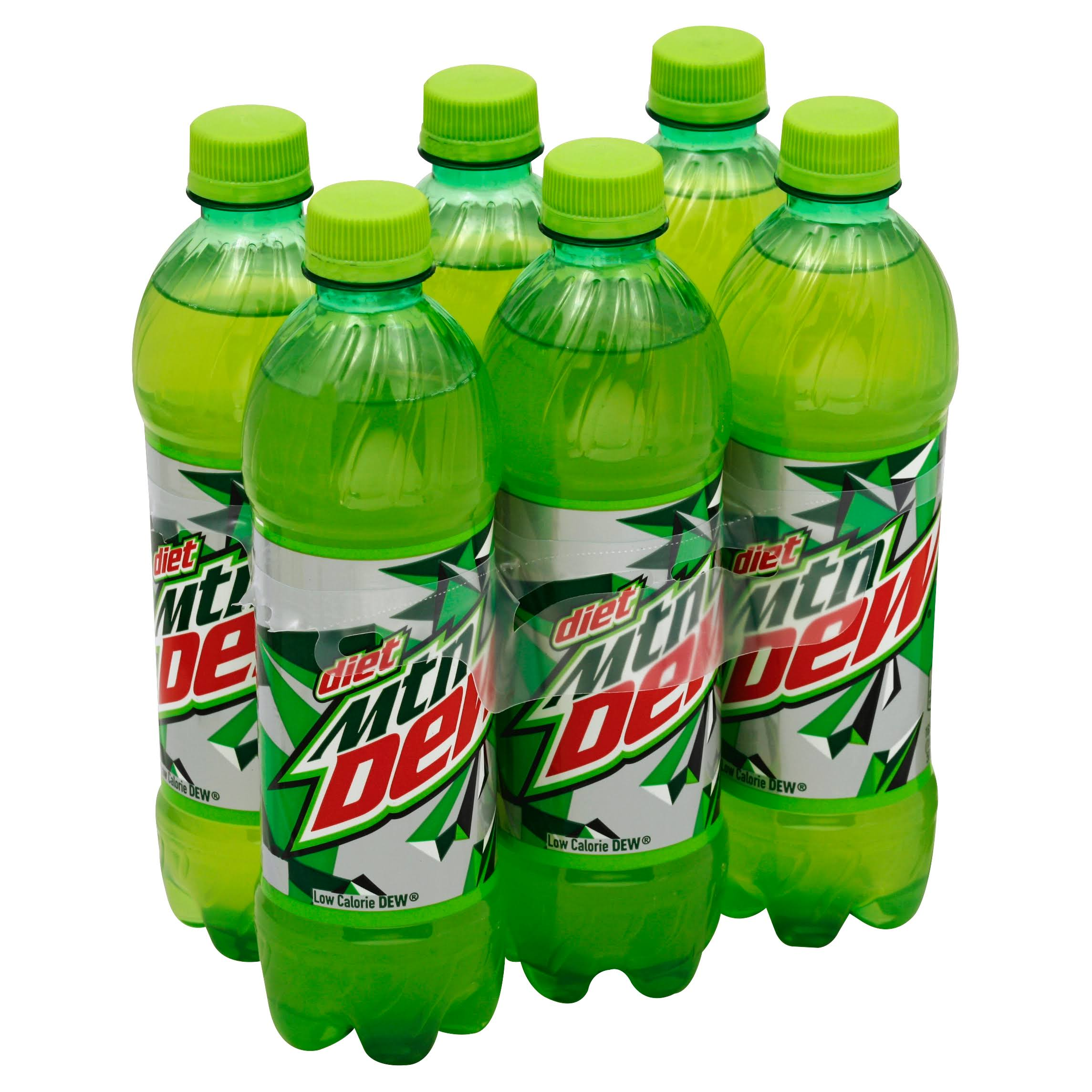 Mountain Dew Diet Soda - 16.9oz, 6pcs