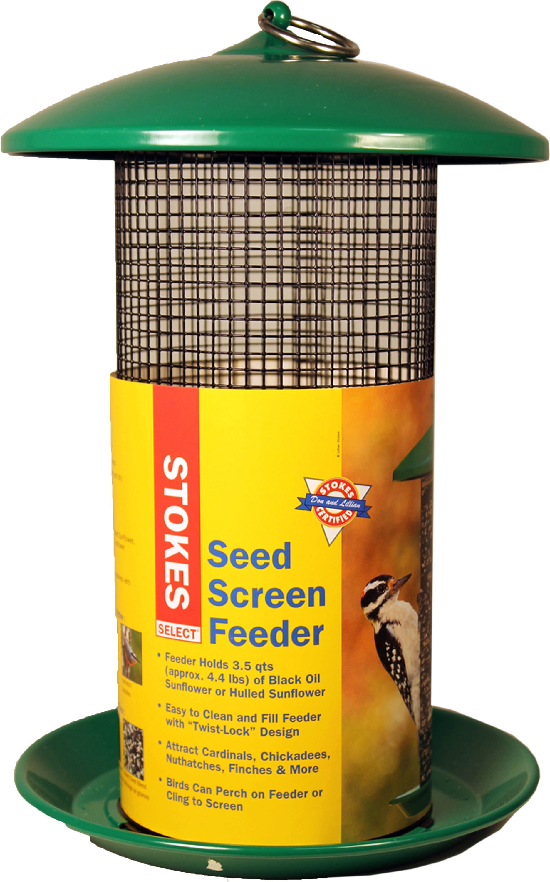 Stokes Select 38175 Seed Screen Bird Feeder - 4qt