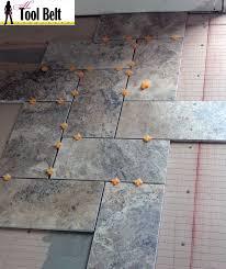 Versailles Tile Pattern Layout by Silver Travertine Tile Herringbone Floor Tutorial Her Tool Belt