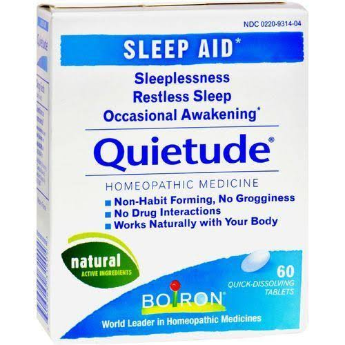 Boiron Quietude Sleep Aid Quick-Dissolving Tablets - 60pk