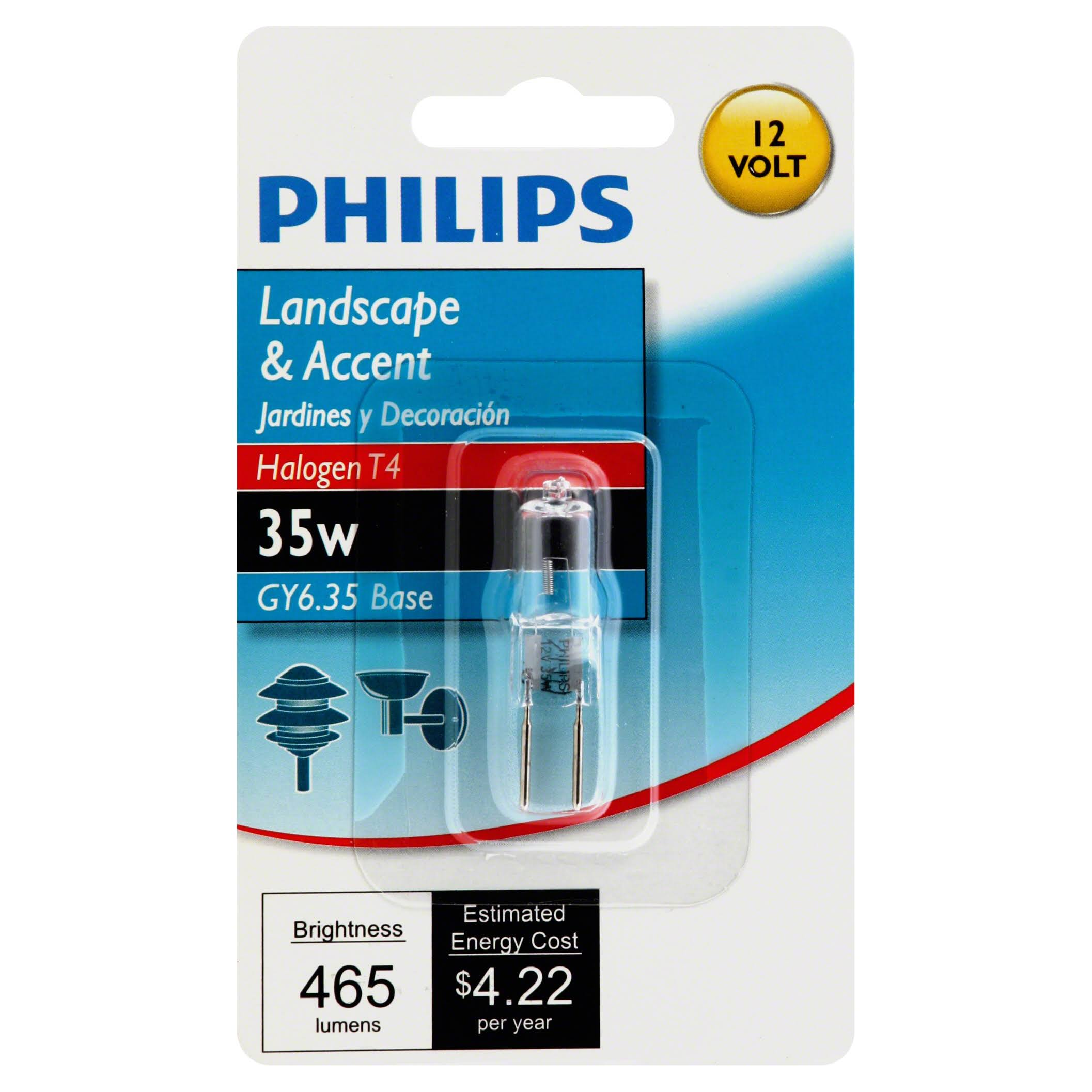 Philips Landscape and Accent Halogen Light Bulb - 35W, Dimmable