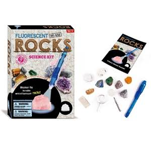 Tedco Toys Fluorescent Rocks Science Discovery Kit