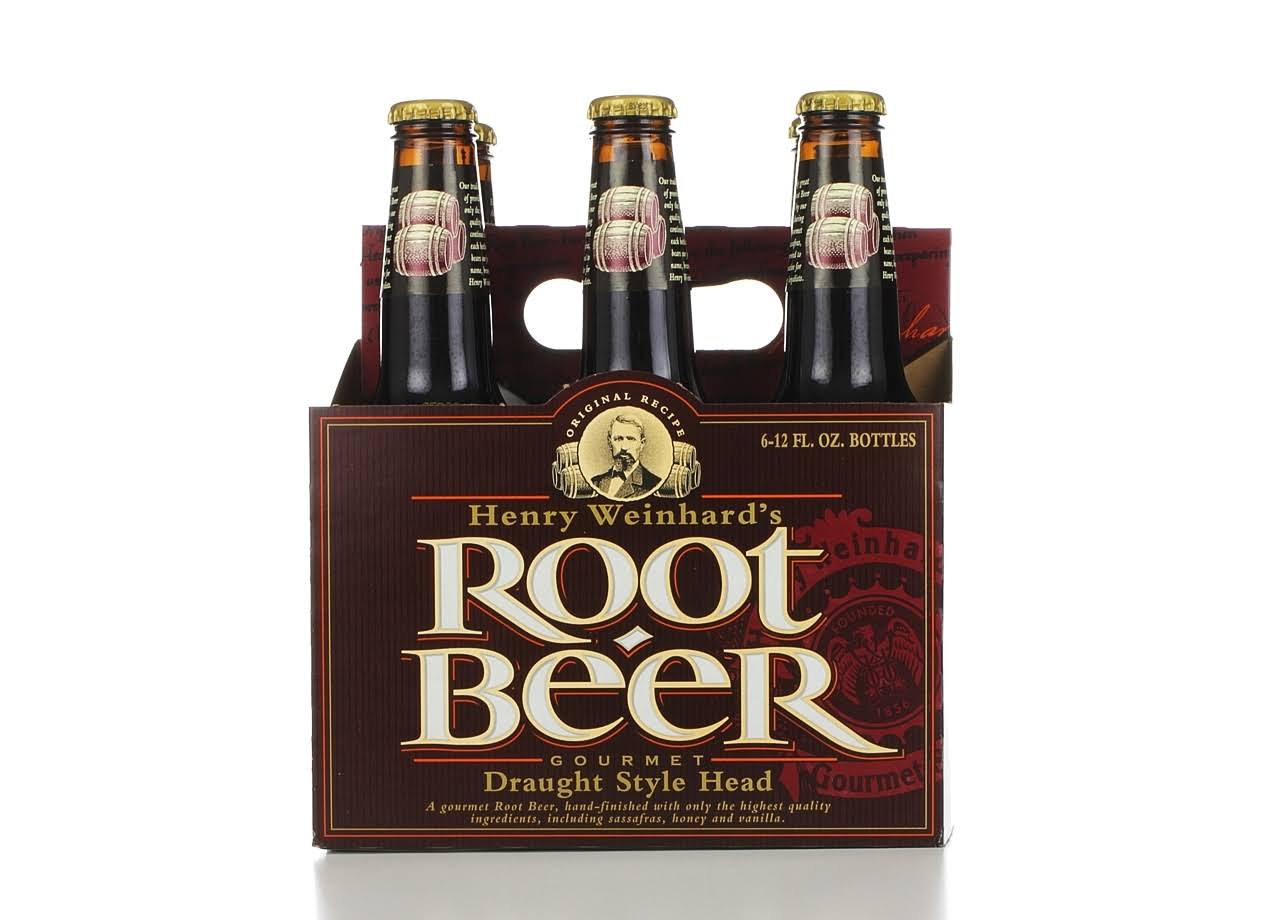 Henry Weinhard's Root Beer - 6 Pack