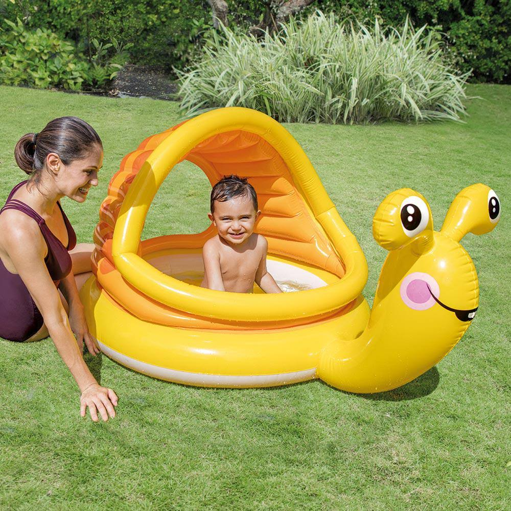 Intex Lazy Snail Inflatable Baby Pool