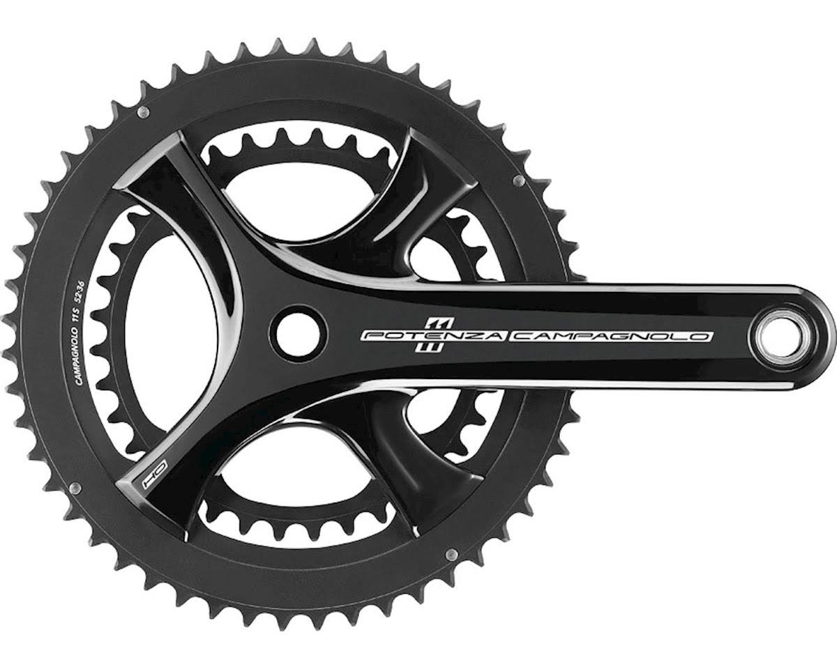 Campagnolo Potenza Ho Ultra Torque 11 Speed Chainset - Black