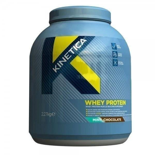 Kinetica Whey Protein - Mint Chocolate, 2270g
