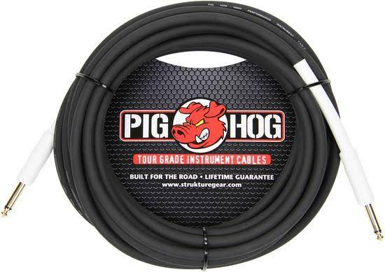 Pig Hog Tour Grade Instrument Cable - 18.6', 8mm