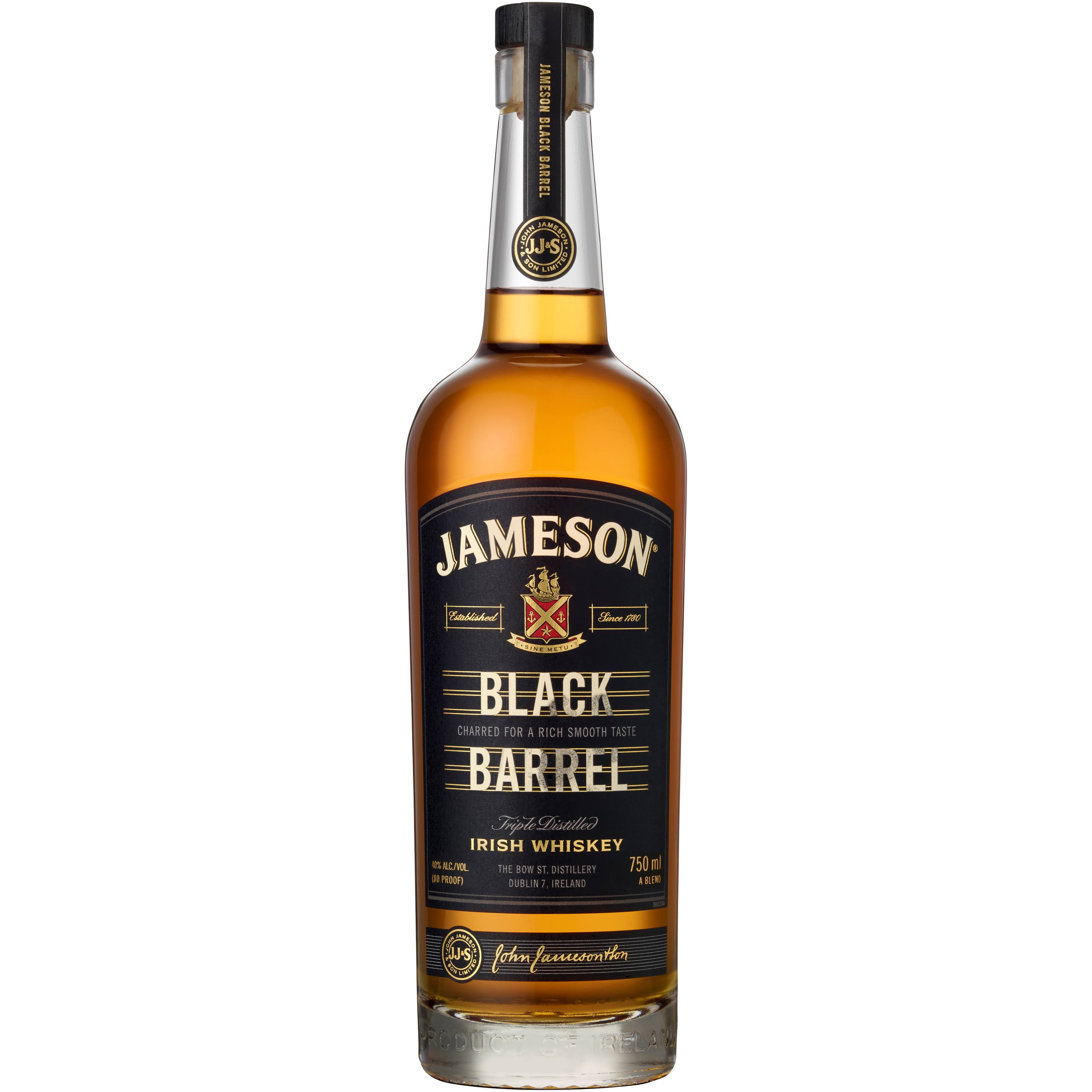 Jameson Black Barrel Irish Whiskey - 750 ml bottle