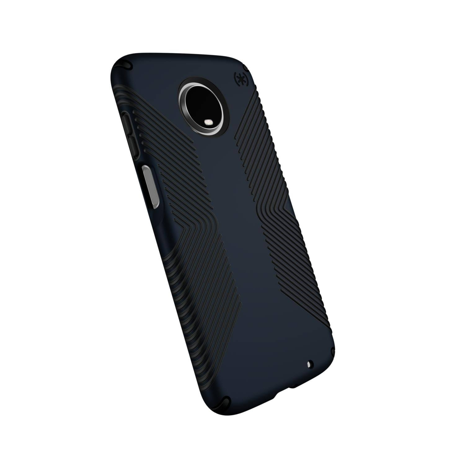 Speck Presidio Grip Case For Motorola Moto Z3 Play - Eclipse Blue and Carbon Black