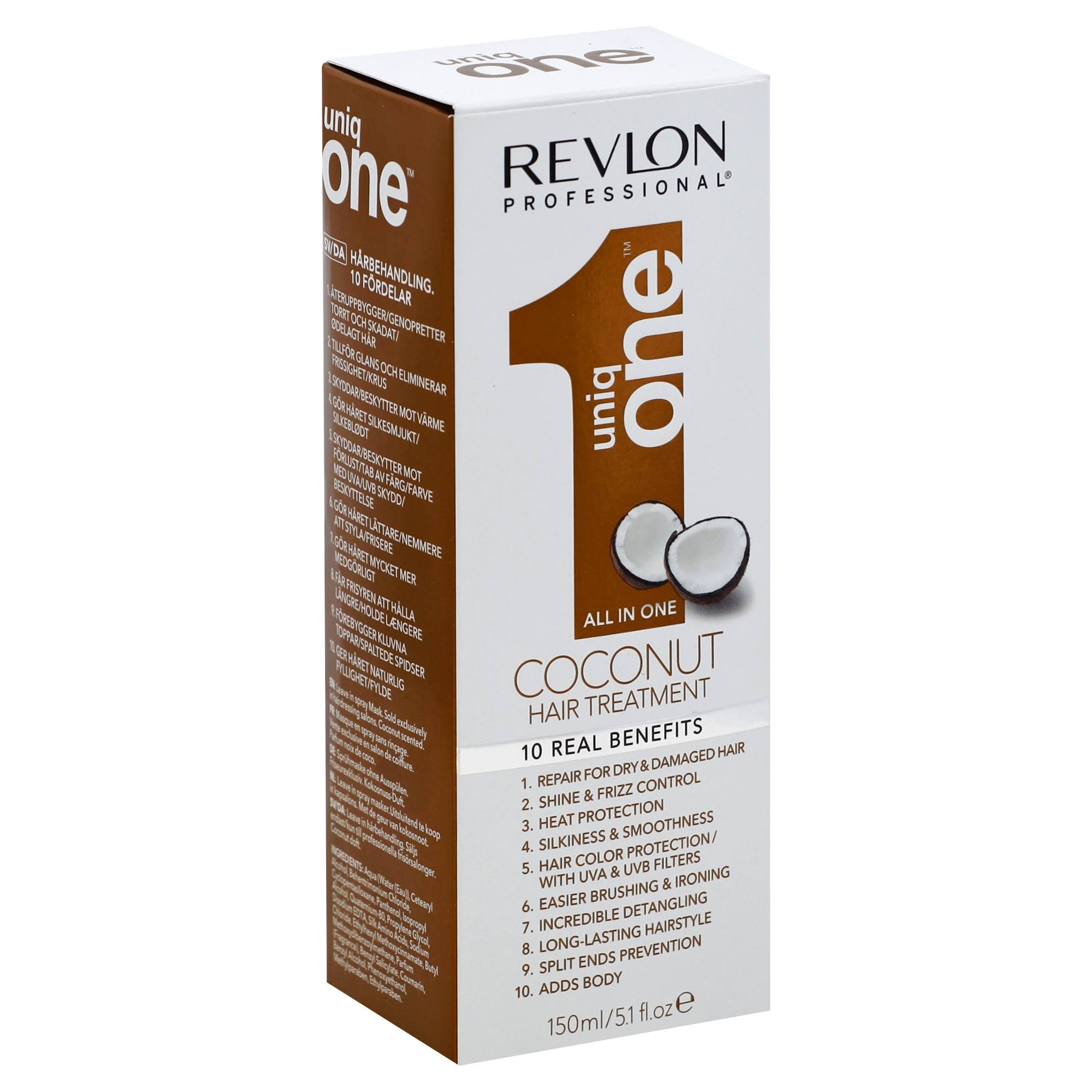 Revlon Professional Uniq One All in One Coconut Hair Treatment - 150ml