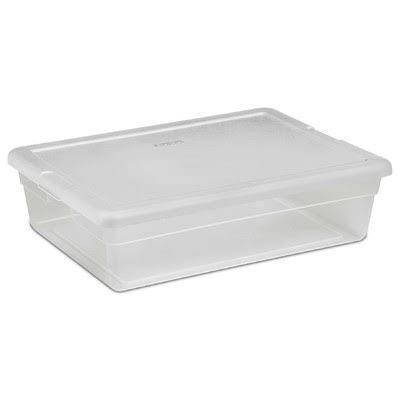Sterilite Storage Box - Clear, 28qt