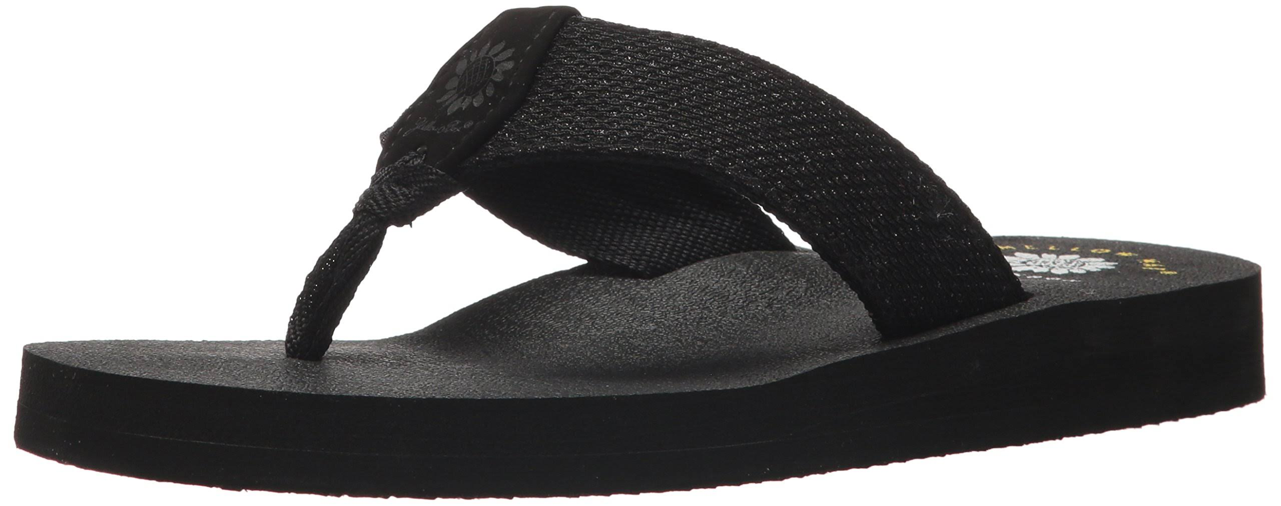 Yellow Box Women's Dax Sandal 8 Black