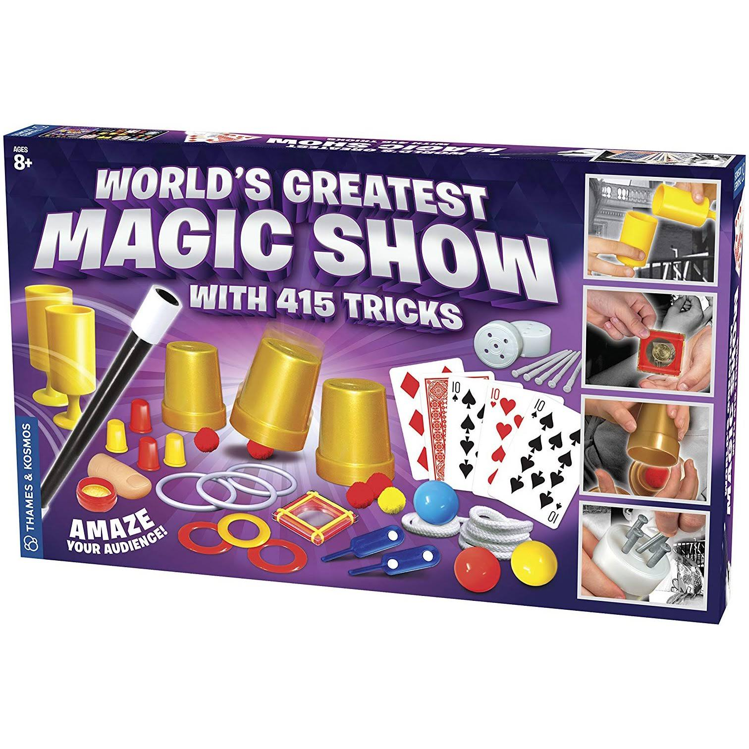Thames & Kosmos - World's Greatest Magic Show (with 415 Tricks)