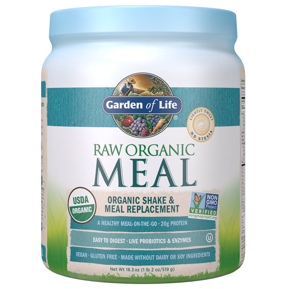 Garden of Life Raw Meal Beyond Organic Snack and Meal Replacement