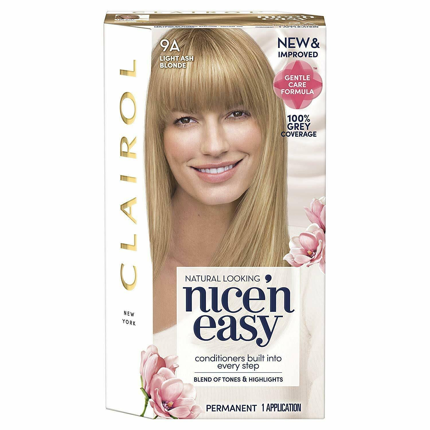 Nice N Easy Permanent Hair Dye - 9A Light Ash Blonde