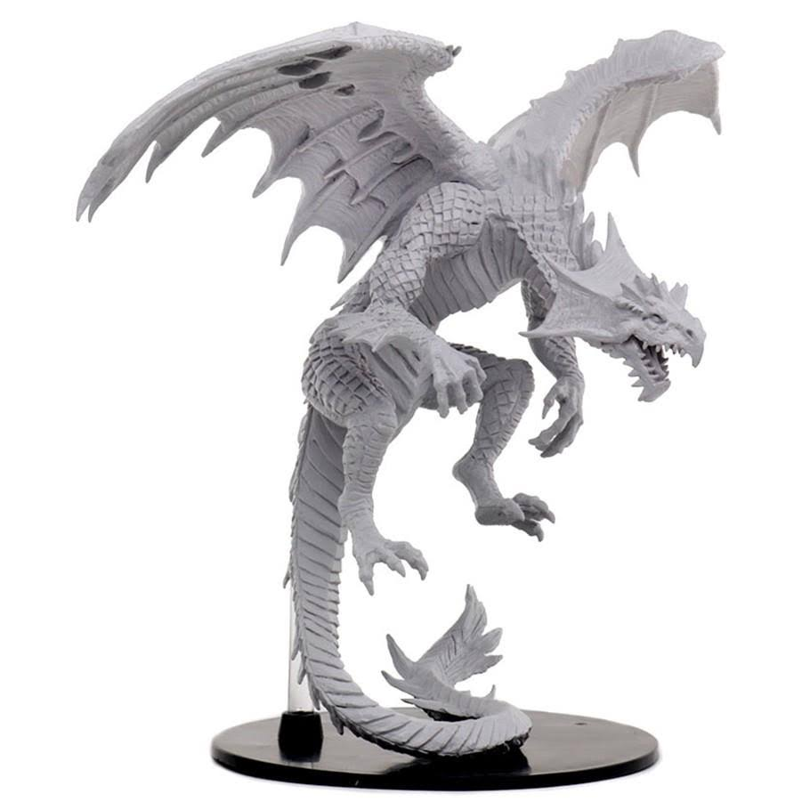 WizKids Pathfinder Battles Gargantuan Dragon, White