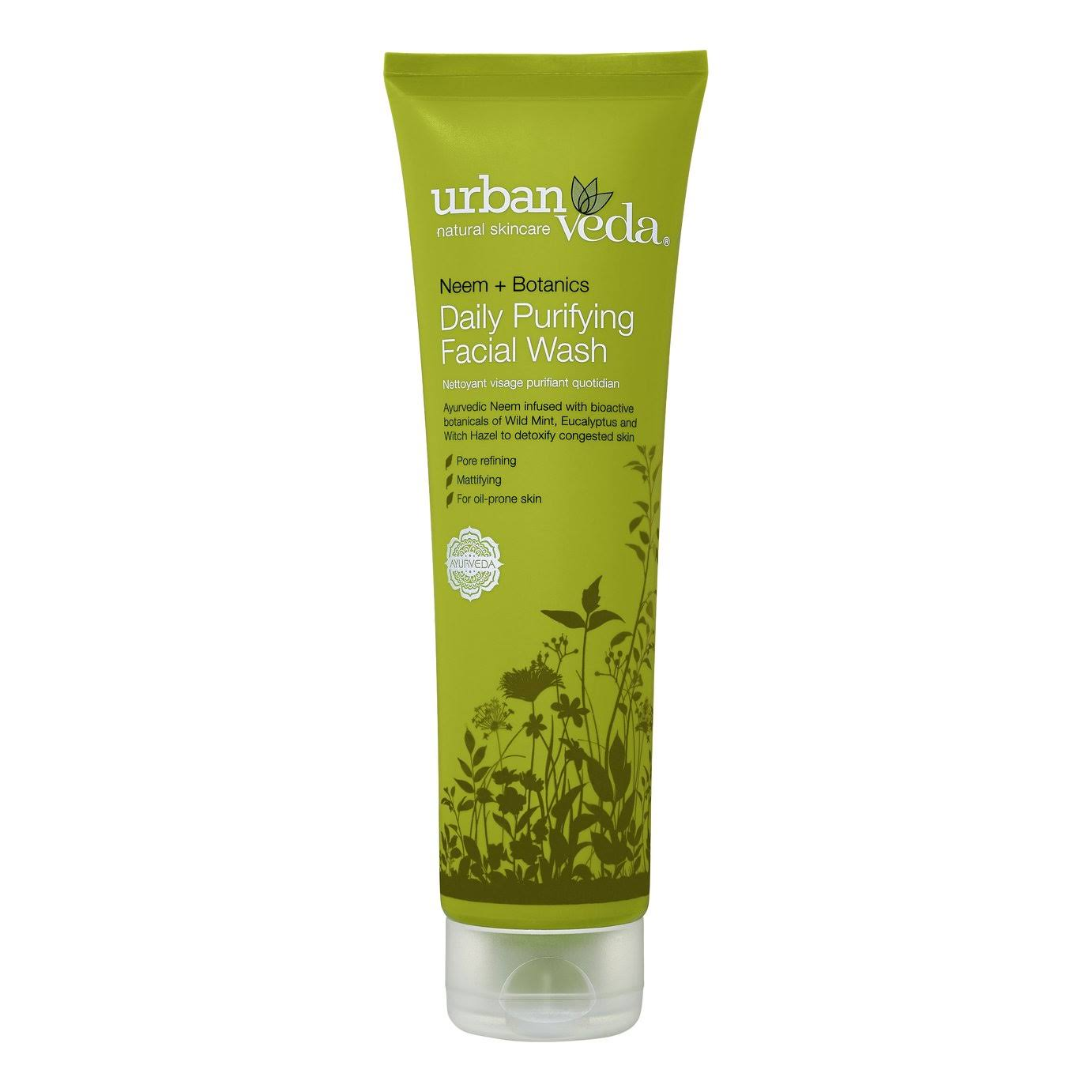 Urban Veda Daily Purifying Facial Wash - Neem Plus Botanics, 150ml