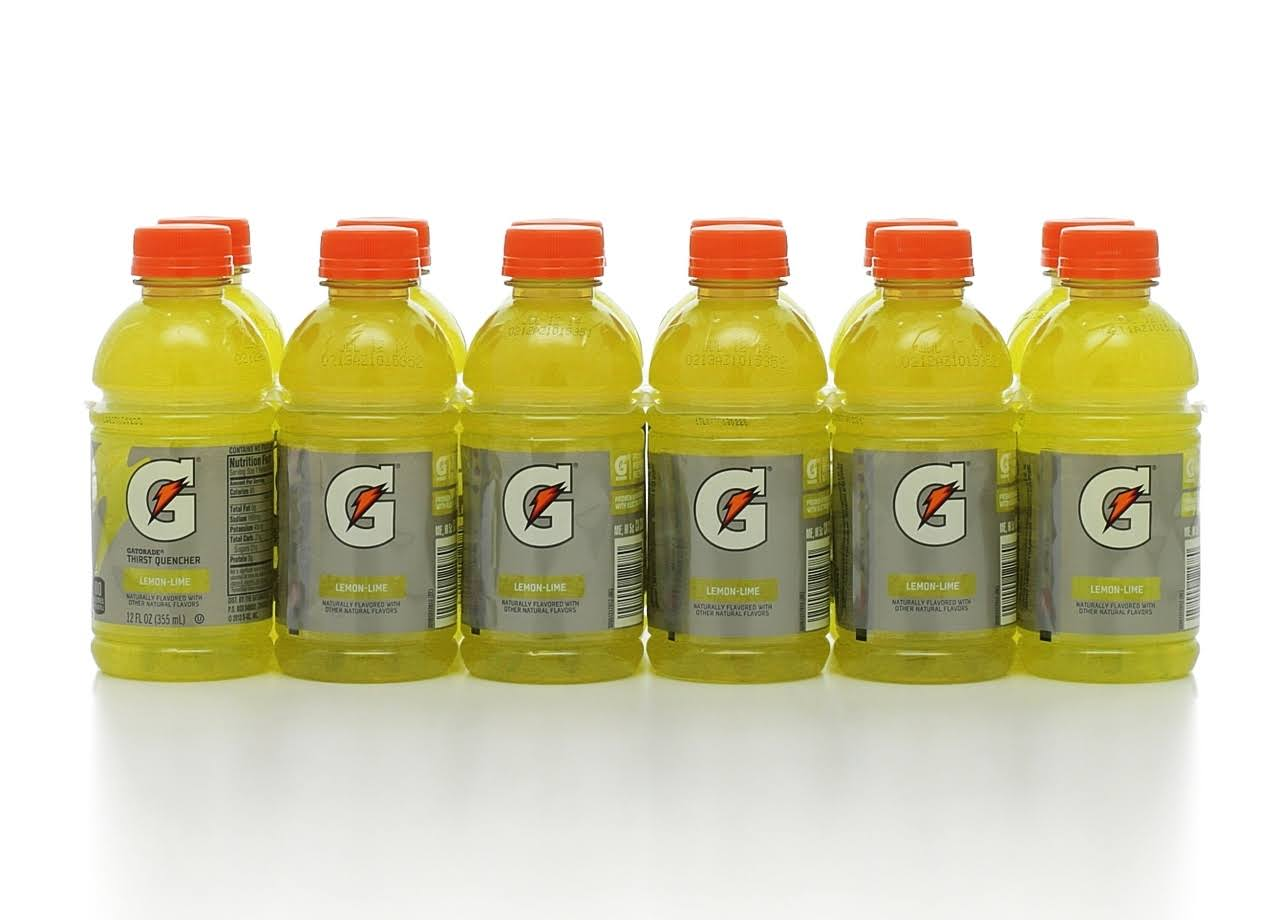 Gatorade Lemon-Lime Thirst Quencher - 12oz