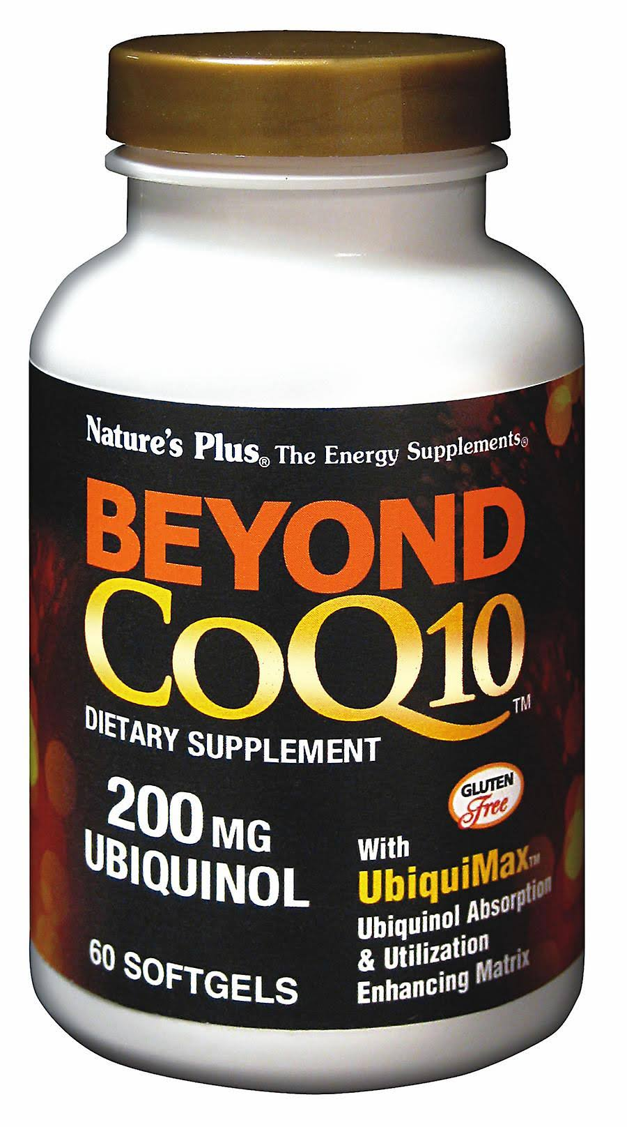 Nature's Plus Beyond CoQ10 Ubiquinol - 200mg, 60 Softgels