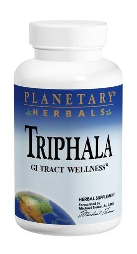 Planetary Herbals Triphala Internal Cleanser Supplement - 1000mg, 90 Tablets