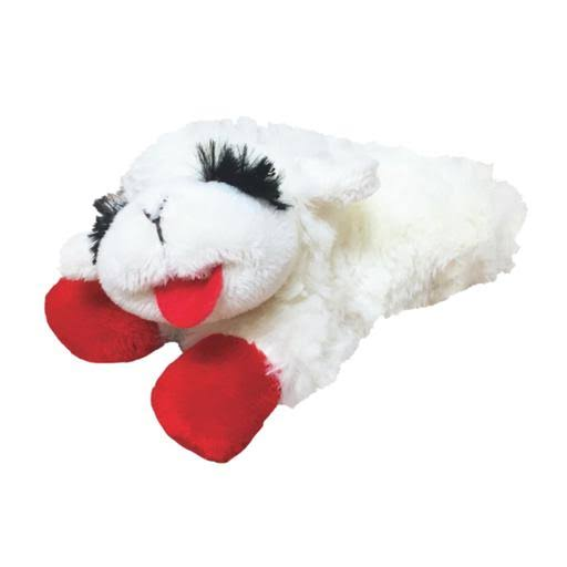 Multi-Pet International Lambchop Plush Squeak Toy