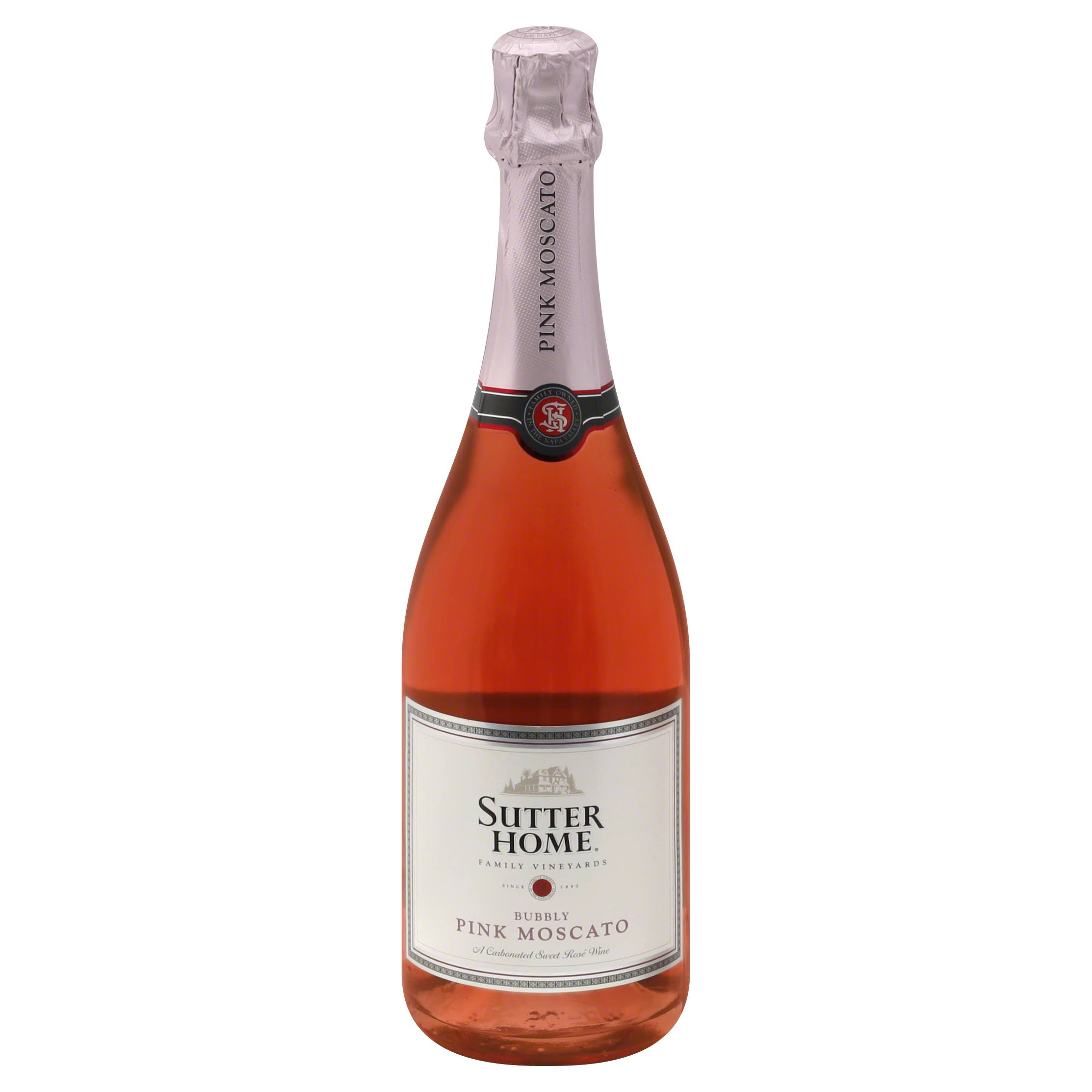 Sutter Home Bubbly Pink Moscato - California, United States