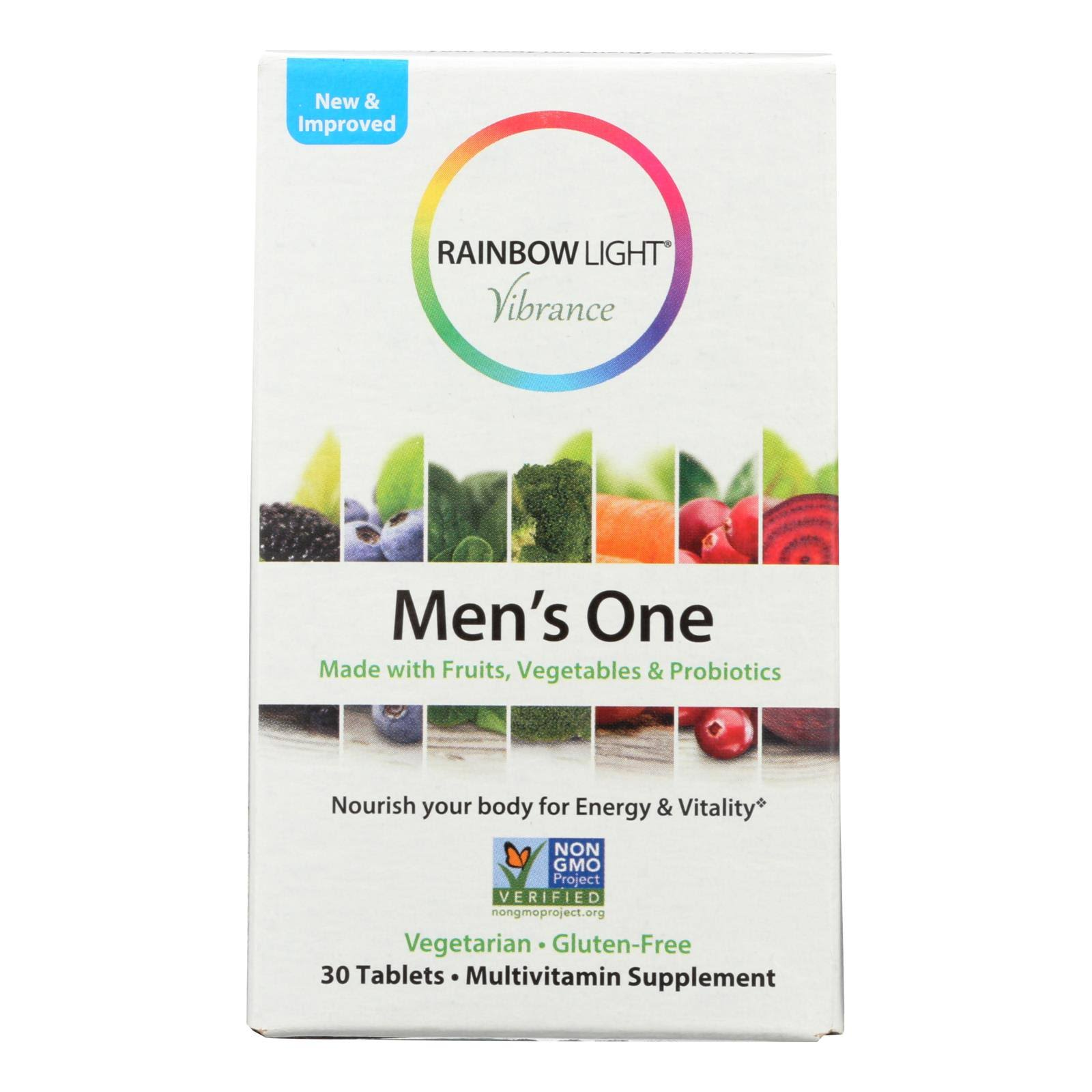 Rainbow Light Vibrance Men's One, Tablets - 30 tablets