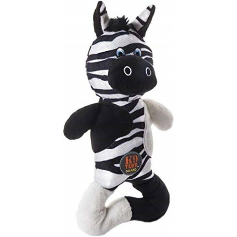 Charming Pet Pattern Patches Dog Toy-Zebra