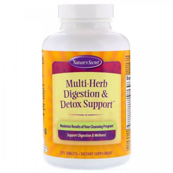 Nature'S Secret Multi Herb Digestion and Detox Support Dietary Supplement - 275ct