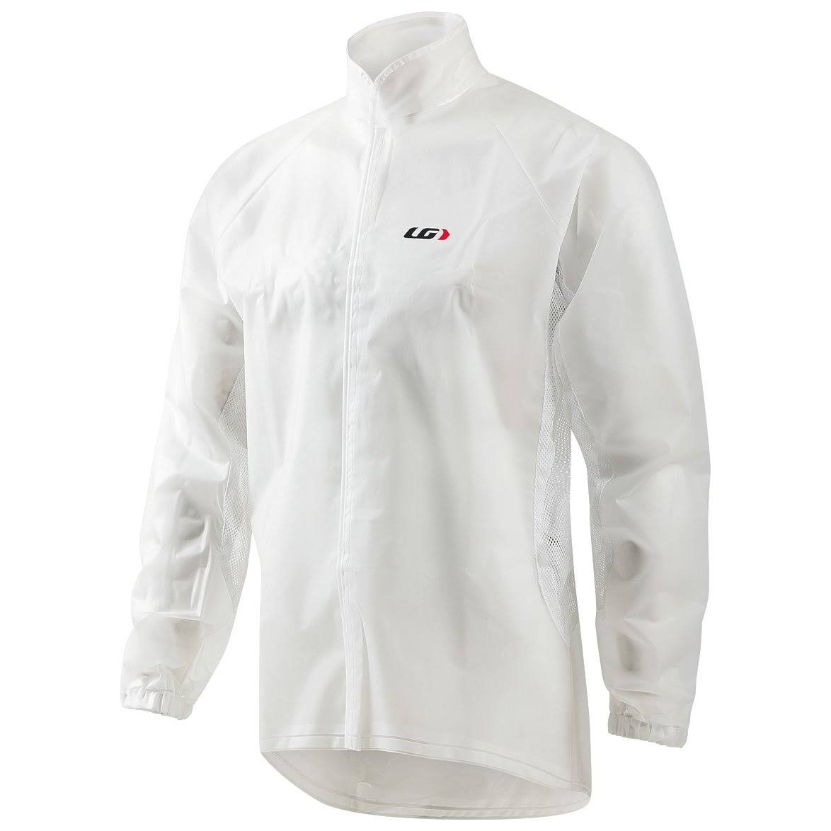Louis Garneau Men's Clean Imper Cycling Jacket - Clear, Small