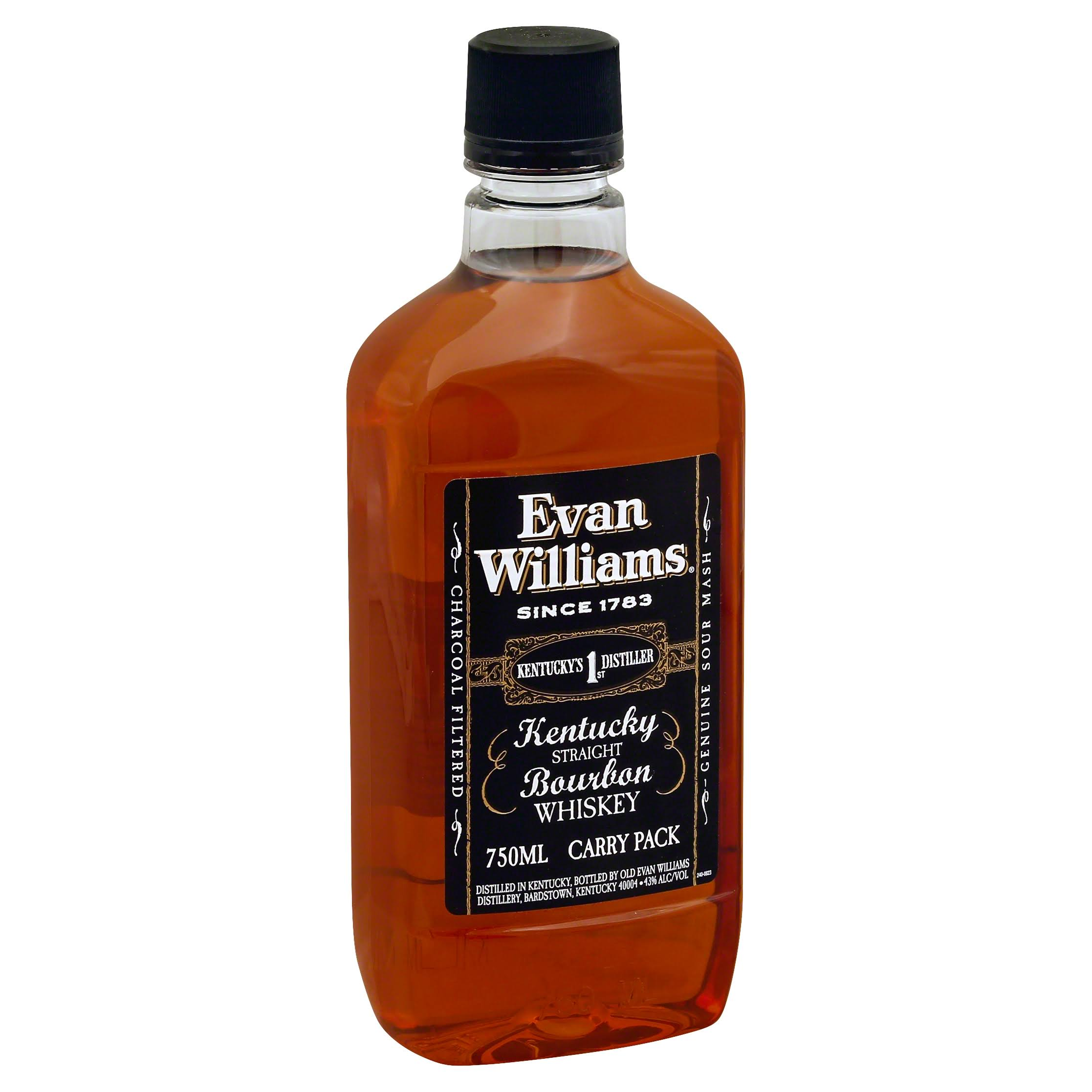 Evan Williams Whiskey, Kentucky Straight Bourbon, Carry Pack - 750 ml