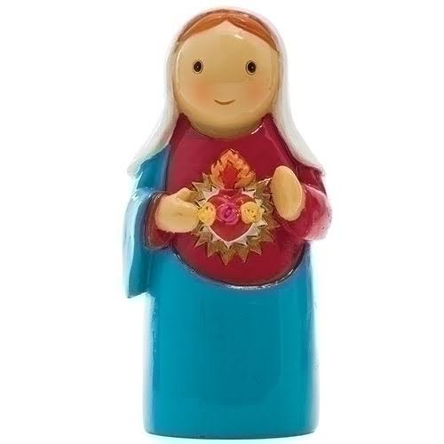 Immaculate Heart of Mary Little Drops of Water Figure