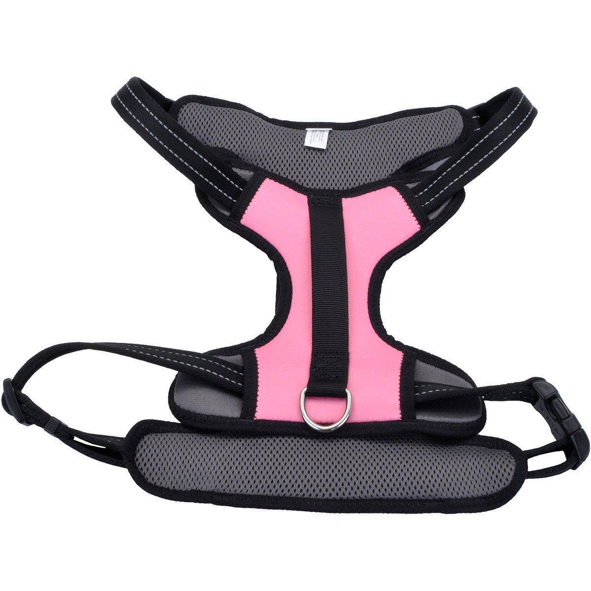 Coastal Reflective Control Handle Harness - Pink Extra Large
