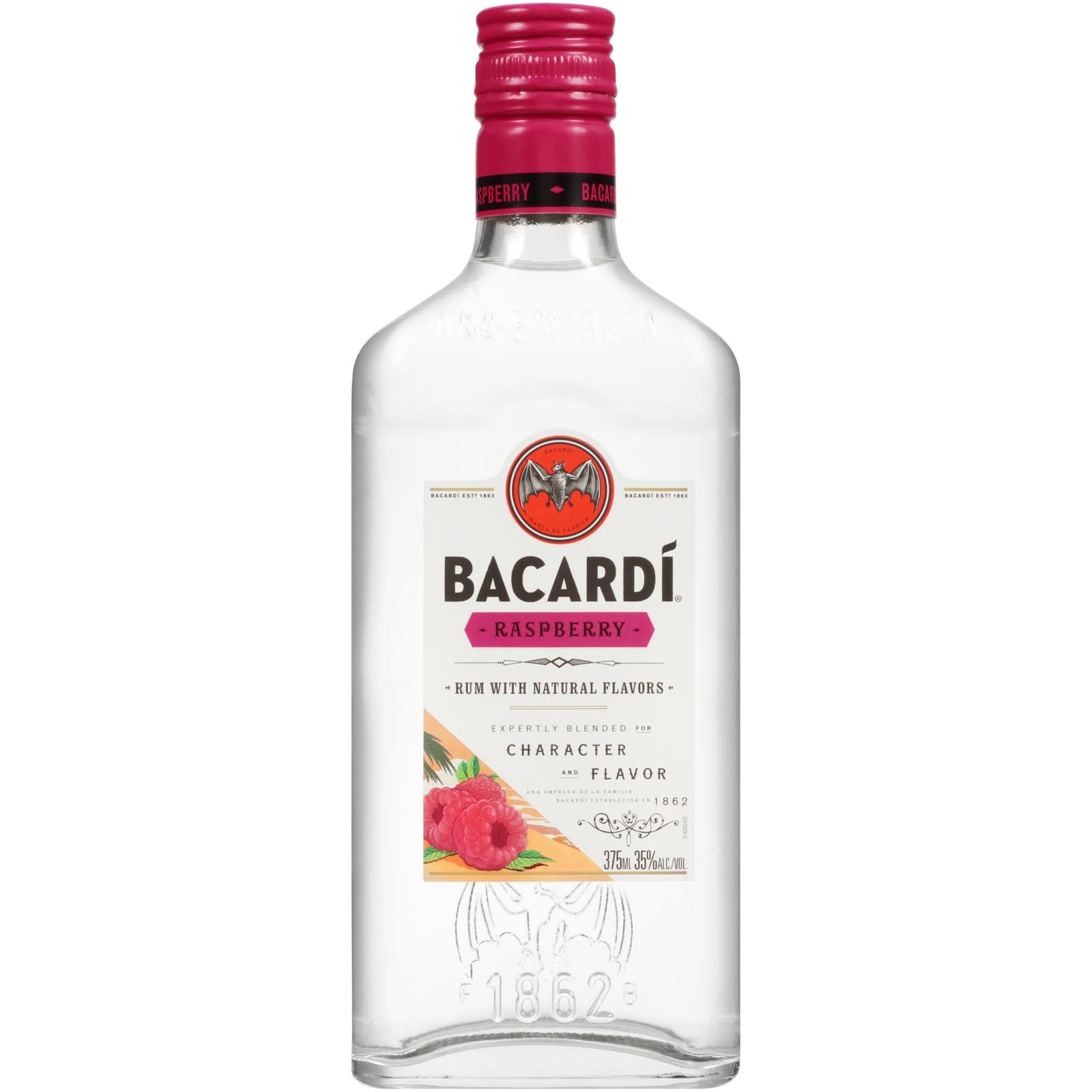 Bacardi Raspberry Rum 375ml
