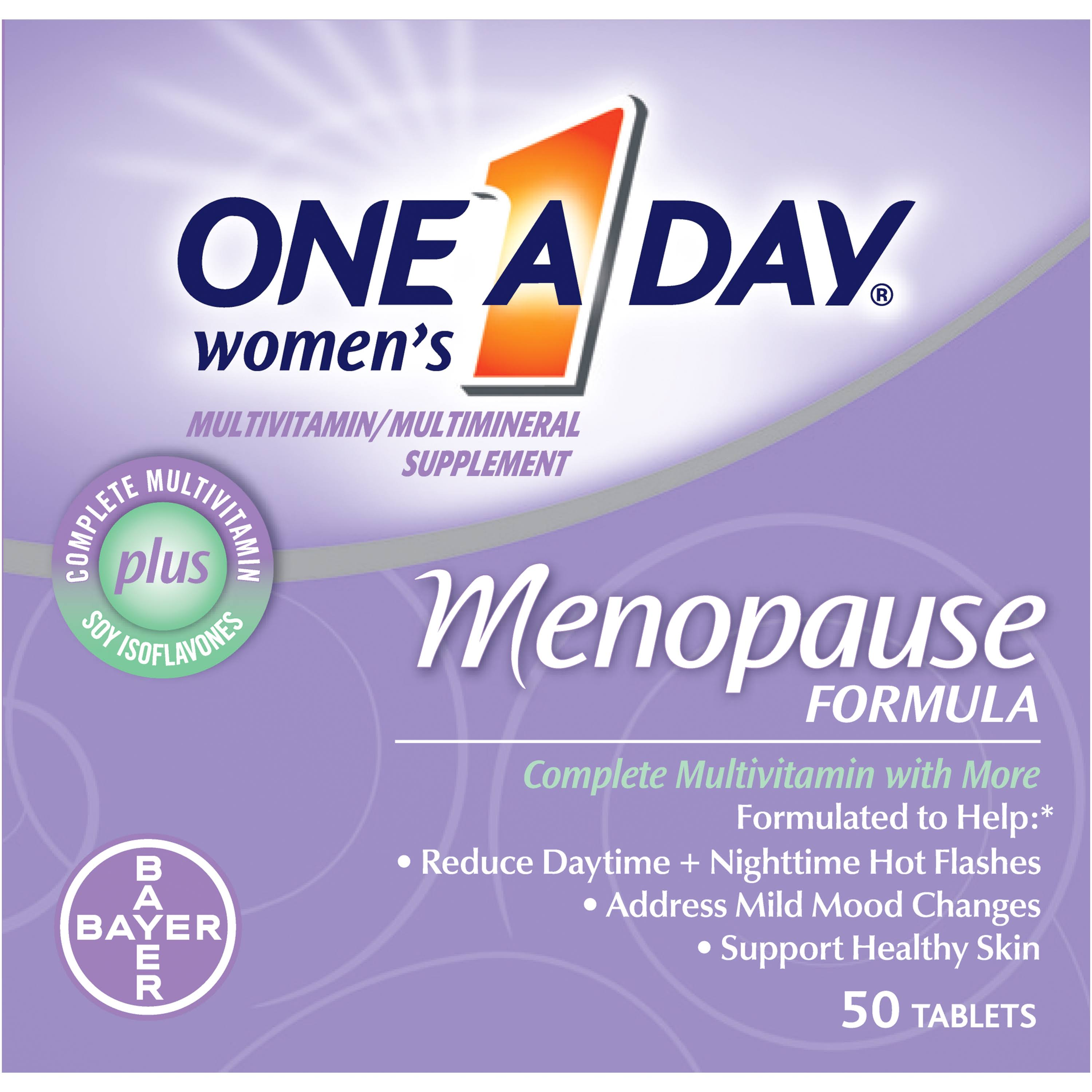 Bayer One A Day Women's Menopause Formula Tablets - 50 Tablets
