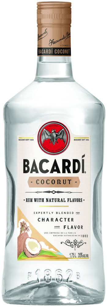 Bacardi Coconut Flavored Rum - 1750ml