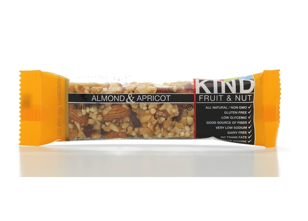 Kind Fruit and Nut Bars - Almond and Apricot