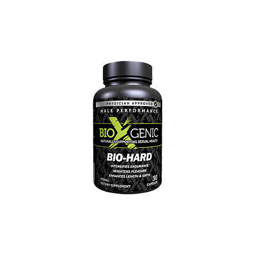 Bioxgenic Bio-Hard Male Performance Capsules - x30