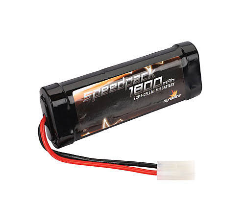 Dynamite Speedpack 1800mAh NiMH 6 Cell Flat Battery