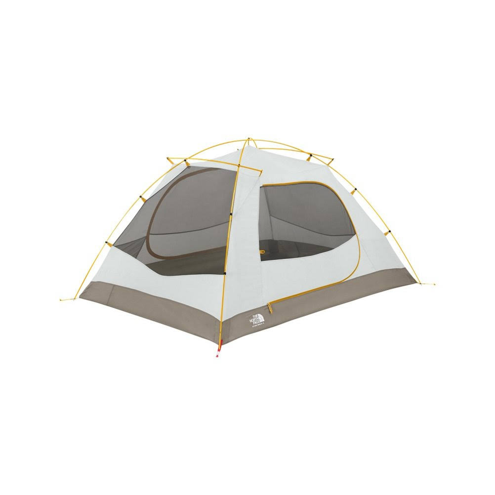 The North Face Stormbreak 3 Person Tent - Yellow and Castor Grey