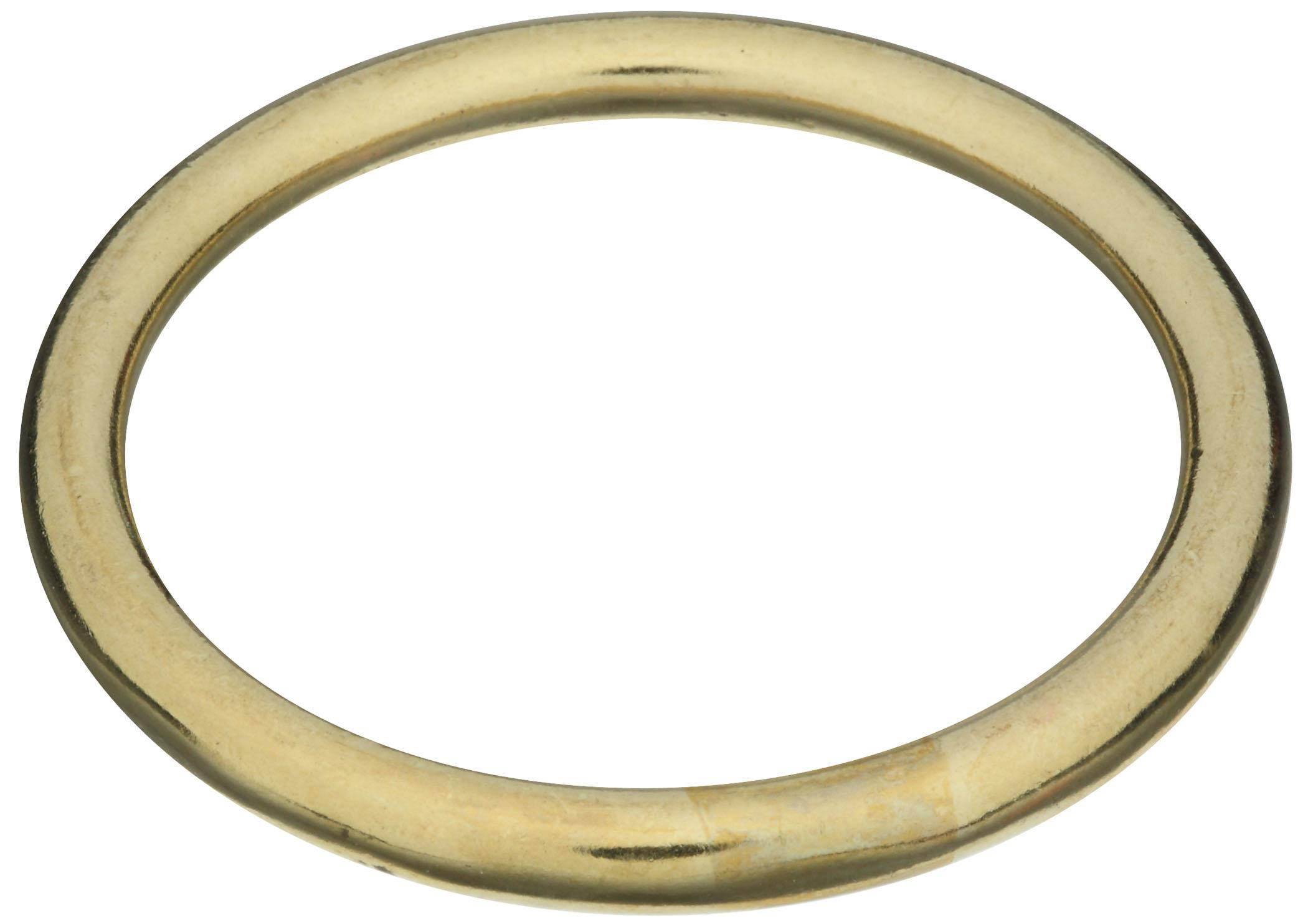 National Hardware 3156BC Ring - Solid Brass, 2""