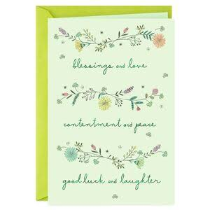 Wonderful Wishes for You St. Patrick's Day Card