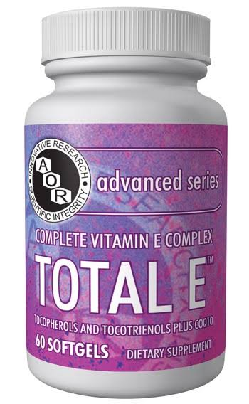 Advanced Orthomolecular Research Total E 60 Cap