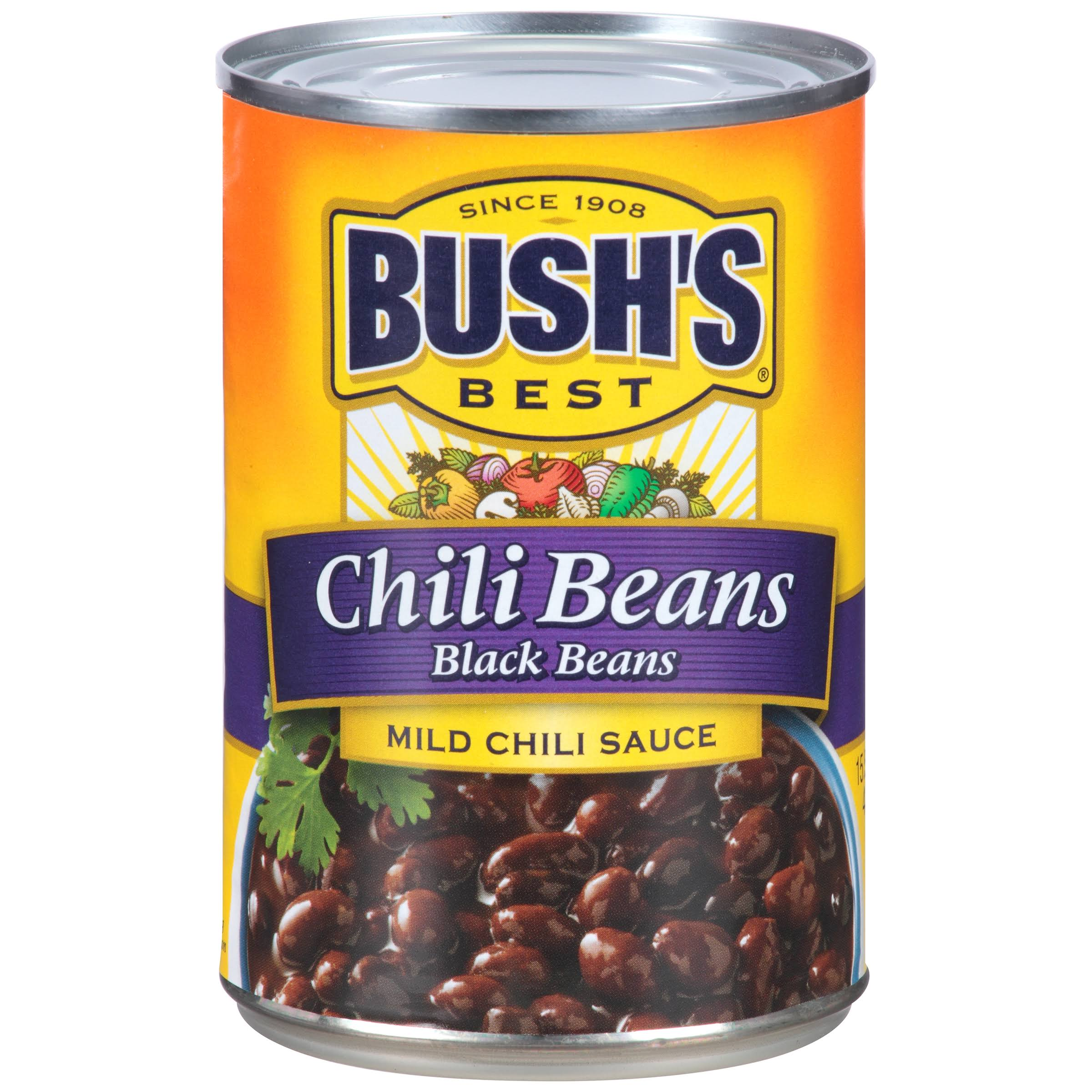 Bush's Best Chili Black Beans - 15.5oz