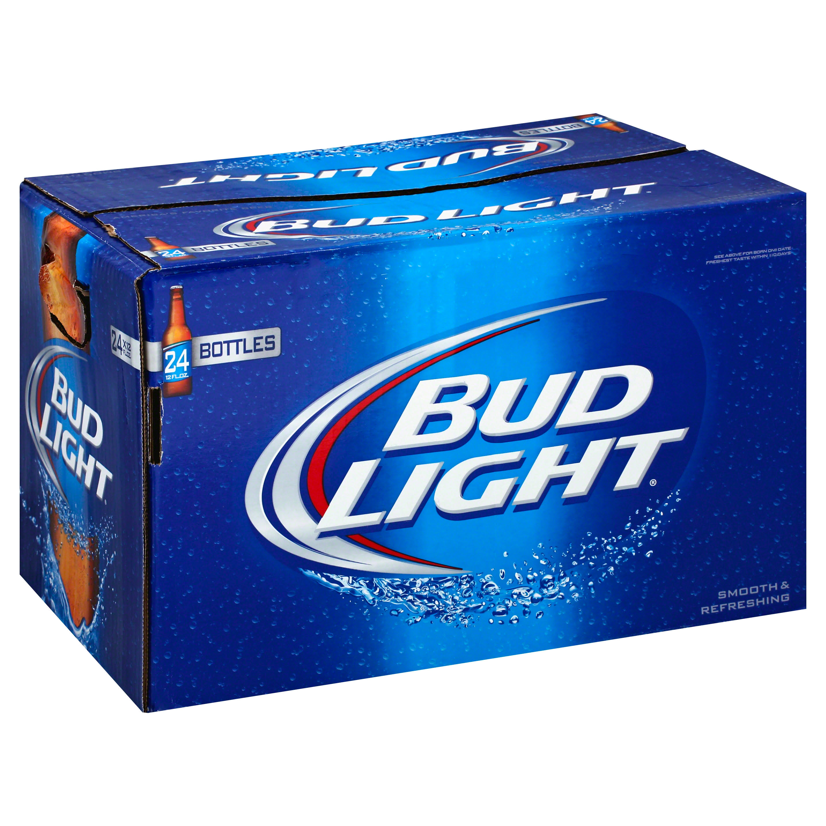 Bud Light Beer - 12oz, 24 Pack